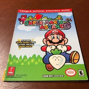 Super Mario AdvancePrima's Official Strategy